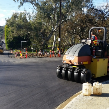 Compson rd / old princess hwy intersection upgrade