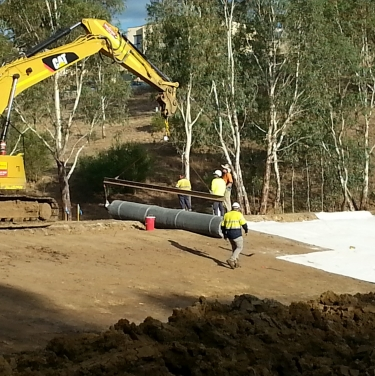 Craigburn farm wetlands remediation