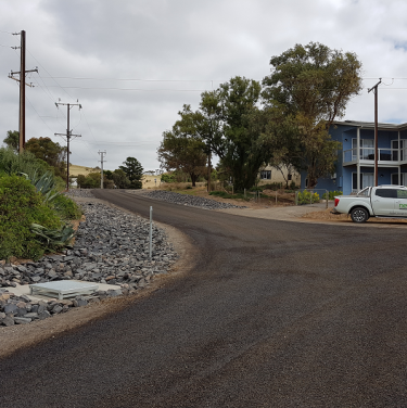 Myponga & yankalilla road reconstruction