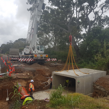 Blewitt springs bridge & road reconstruction