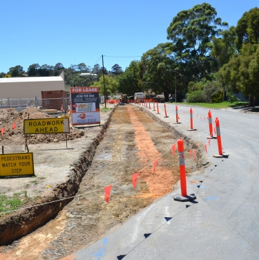 Hampden road stormwater network and road upgrade