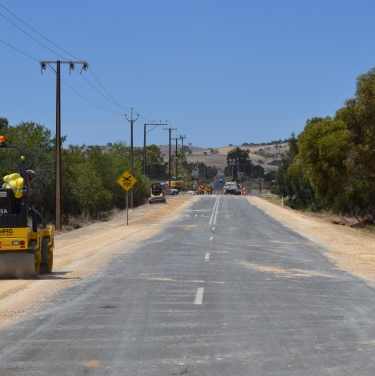 Dalkeith rd reconstruction 2012