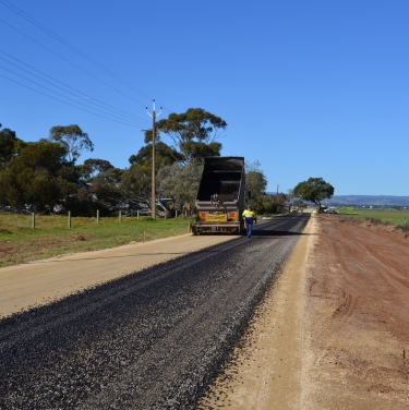 Rural roads reconstruction 2011