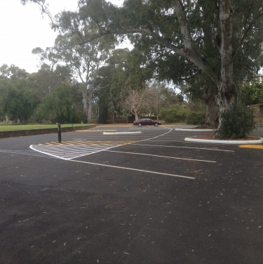 Kensington gardens carpark upgrade