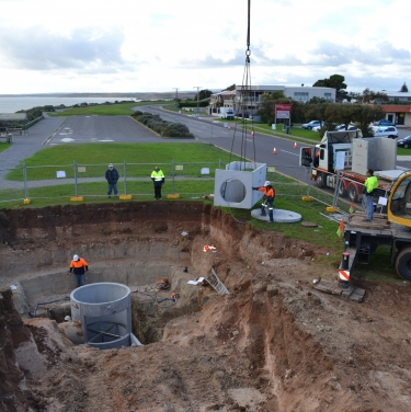 Aldinga (butterworth) stormwater outlet gpt