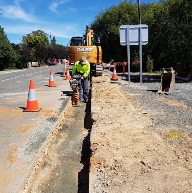 Mount torrens cwms sewer installation