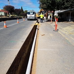 Work commences on the mount torrens cwms project