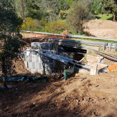 White Bridge Restoration Brownhill Creek